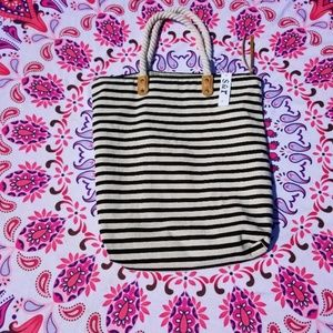 Summer and Rose Striped Tote